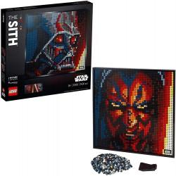 LEGO ART 31200 I SITH STAR...