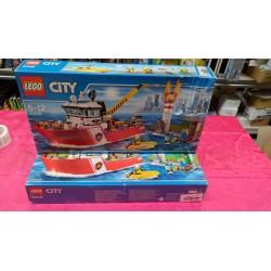 LEGO CITY 60109: Fire Boat